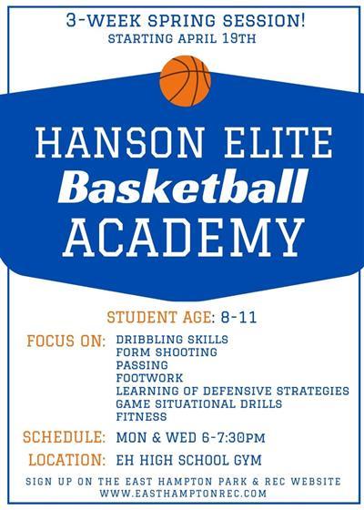 Hanson Basketball